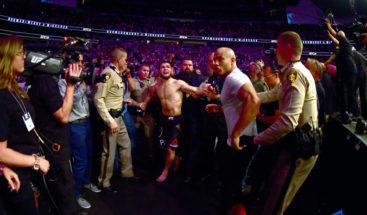 ¿Qué ocurrió después de la pelea entre McGregor y Nurmagomédov?