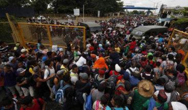Trump: La caravana migrante es una