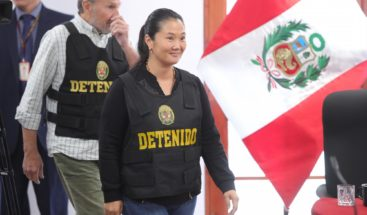Juez libera al líder de la oposición peruana Keiko Fujimori