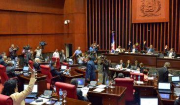 Senado manda a comisión Proyecto de Ley de Presupuesto