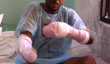 Haitiano cercena brazo a dominicano en San Juan de la Maguana