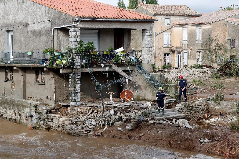 Once muertos por las inundaciones en el sur de Francia