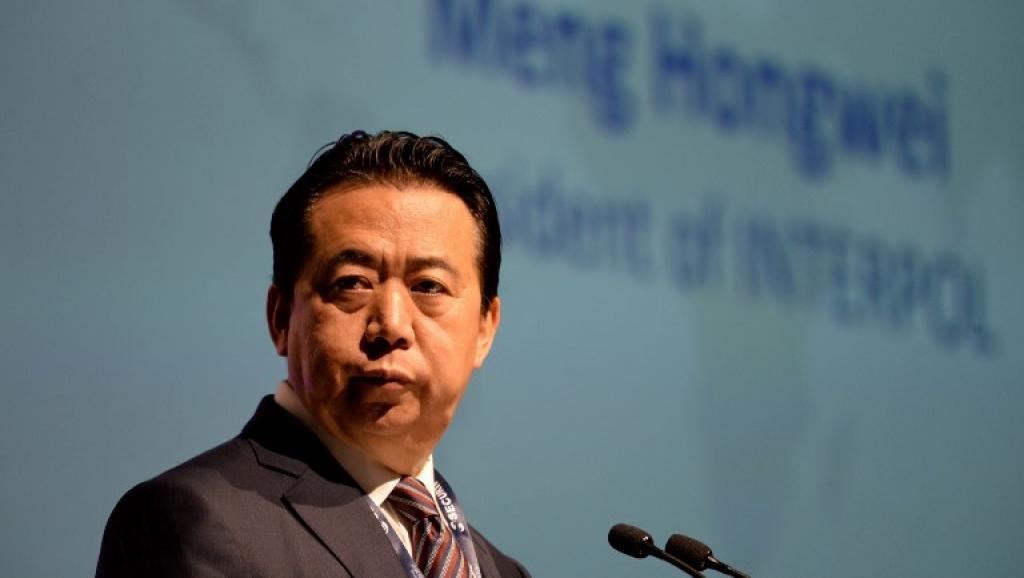 Interpol pide a China que aclare el paradero de su presidente