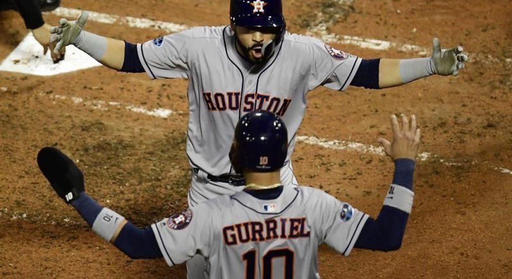 González pega jonrón, que no salva a los Astros