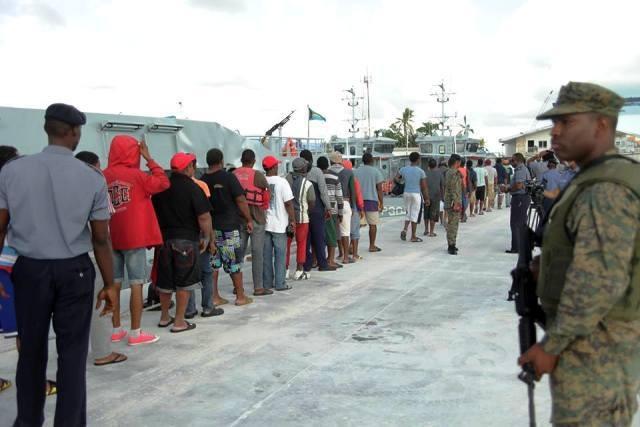 Apresan 124 pescadores dominicanos por pesca ilegal en las Bahamas