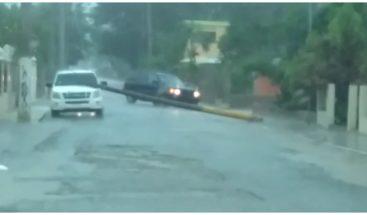 Diversas comunidades resultan inundadas en Dajabón por las lluvias