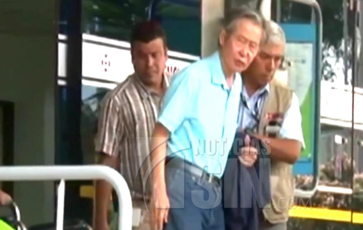 Continua interno expresidente Alberto Fujimori, tras retiro de indulto