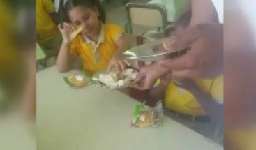 Director Inabie: no es sorpresa estudiantes almuercen galletas con queso