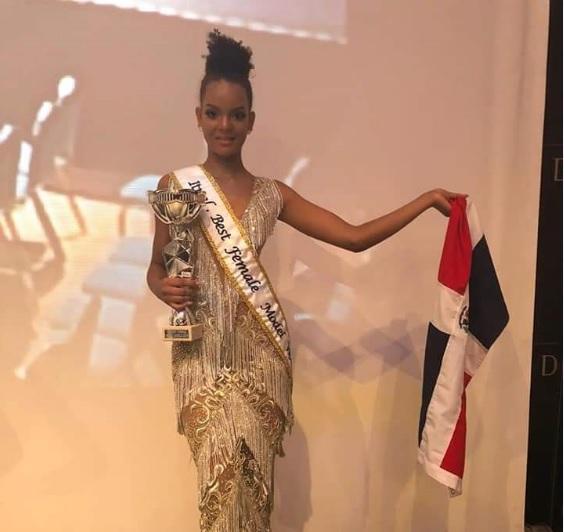 Modelo gana concurso Miss Mejor Modelo del Mundo España