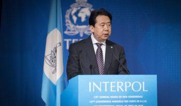 Francia investiga la desaparición del presidente chino de Interpol