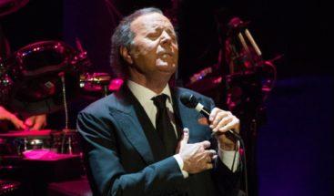 Julio Iglesias dará concierto en Moscú para celebrar 50 años de carrera