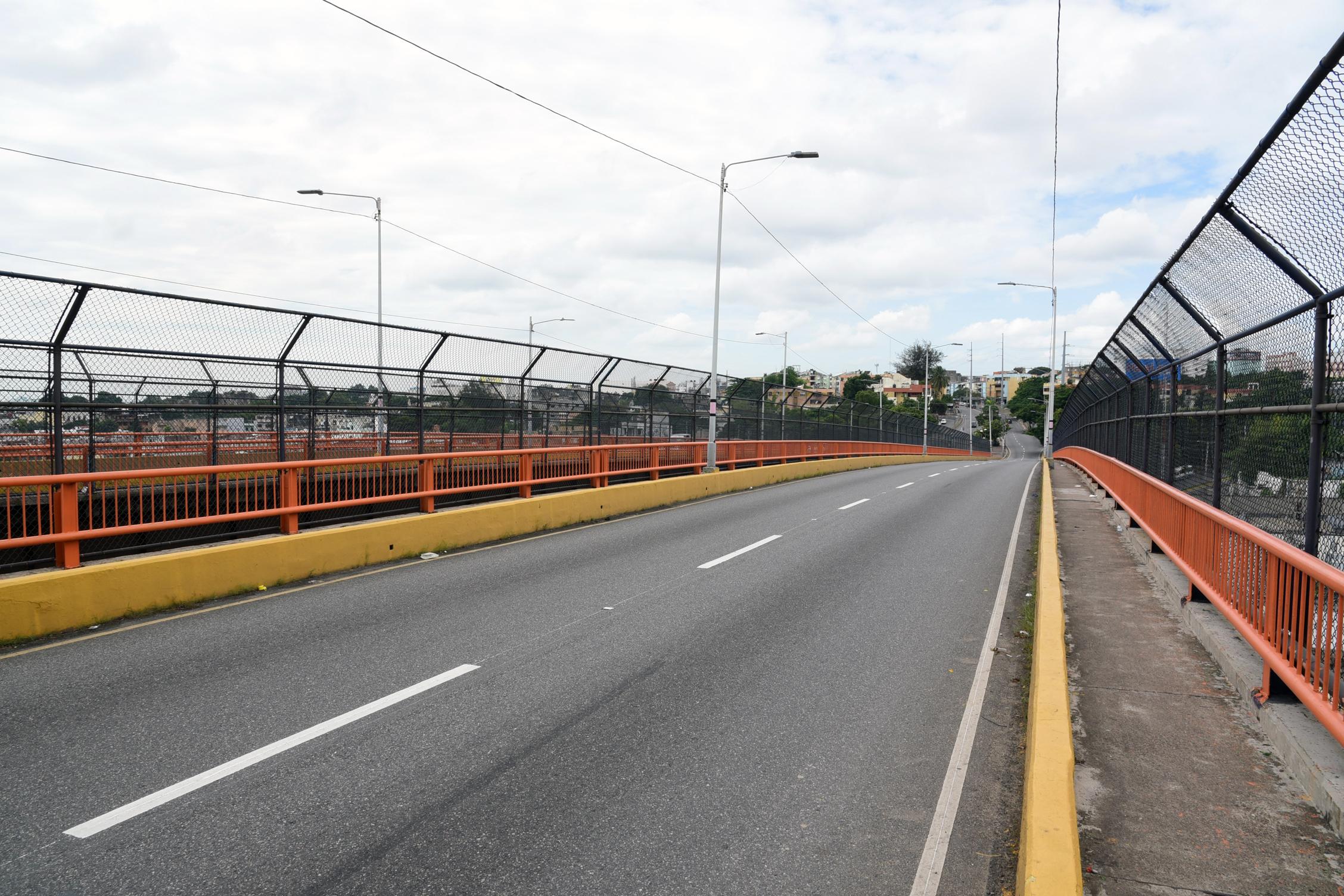 MOPC intervendrá el puente Matías Ramón Mella con fines de reparación