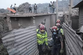 Suben a 182 los fallecidos por erupción del volcán de Fuego de Guatemala