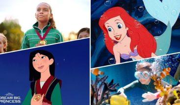 Disney lanza campaña para fomentar aspiraciones de niñas por el mundo