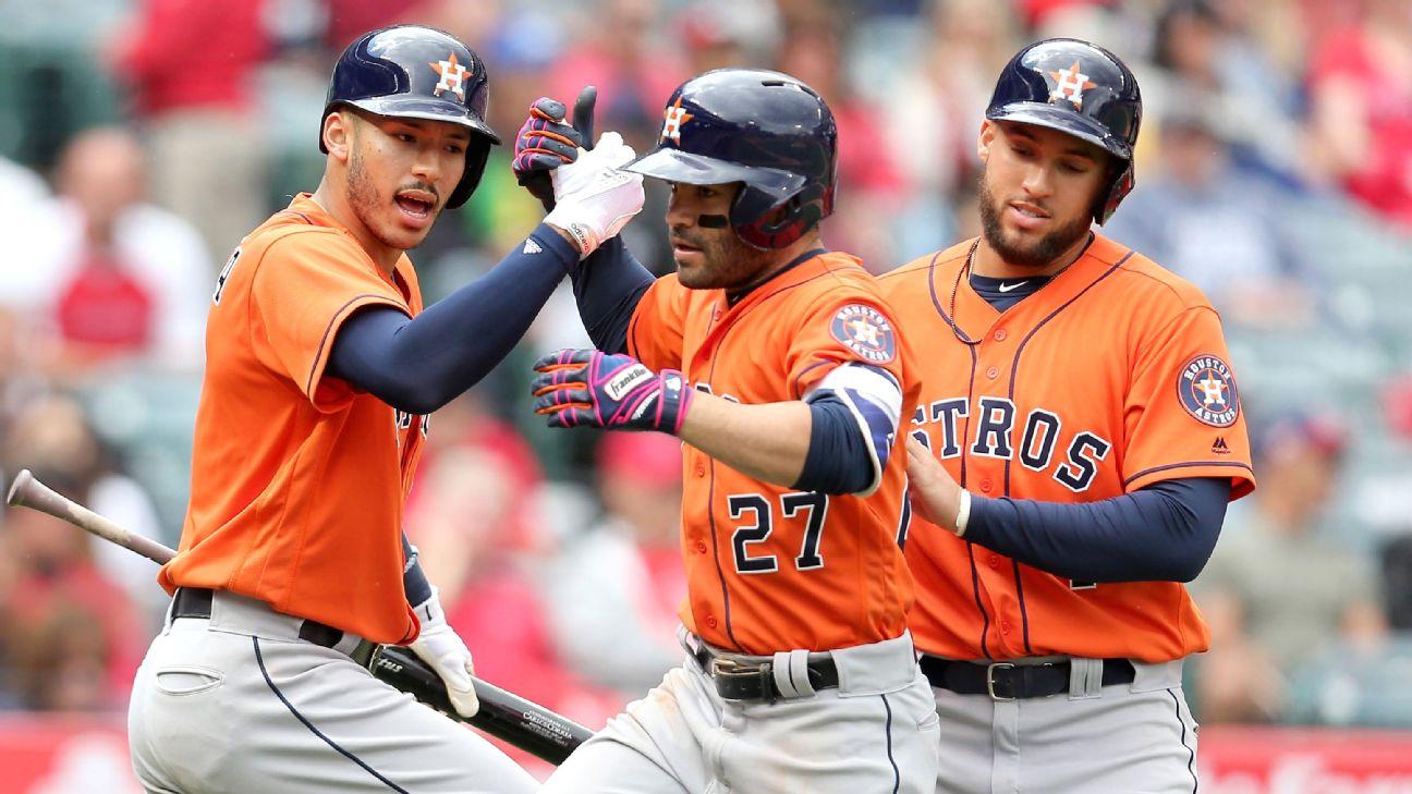 Astros continúan en defensa de su título y muestran su mejor momento