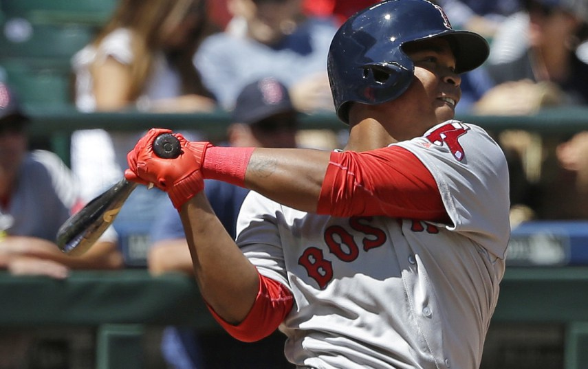 El quisqueyano Devers destaca con Boston