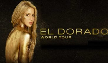Shakira y su Dorado Tour, listo para Punta Cana