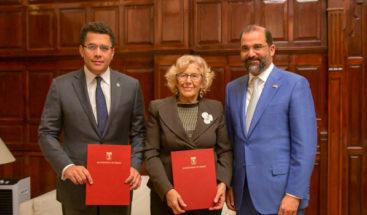 David Collado firma declaración de intención con alcaldía de Madrid