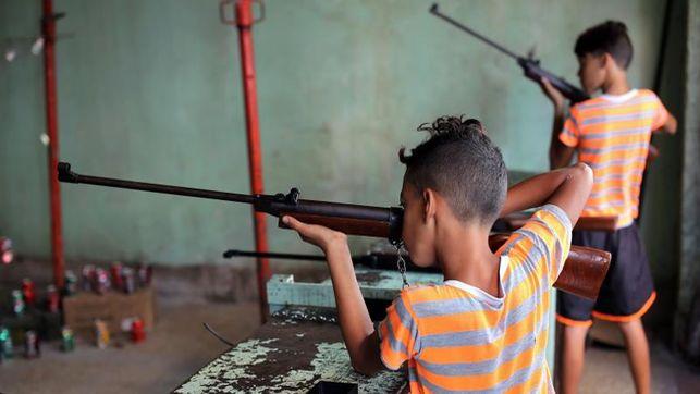Unicef: hay que mantener a los niños alejados de las armas