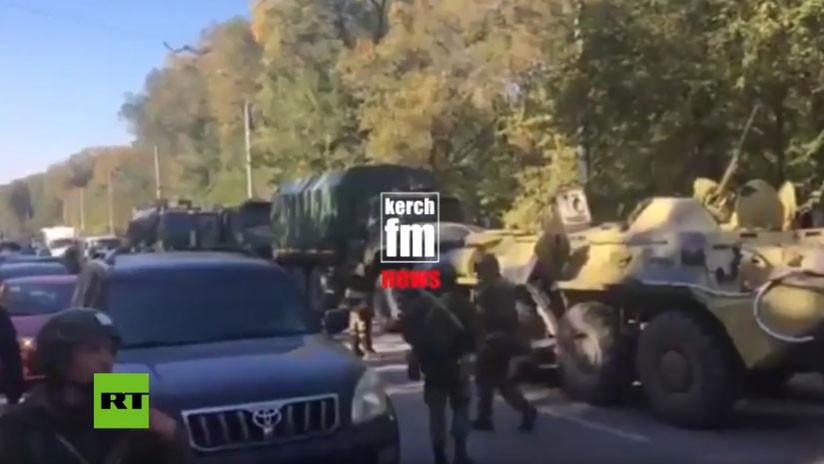 Crimea declara estado de emergencia tras atentado en una escuela técnica