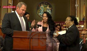 Dominicana es juramentada como jueza municipal en Nueva York
