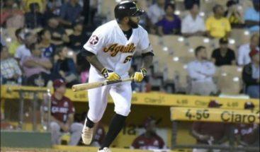Aguilas vencen a los Leones 9-3 y marchan tercero en béisbol dominicano