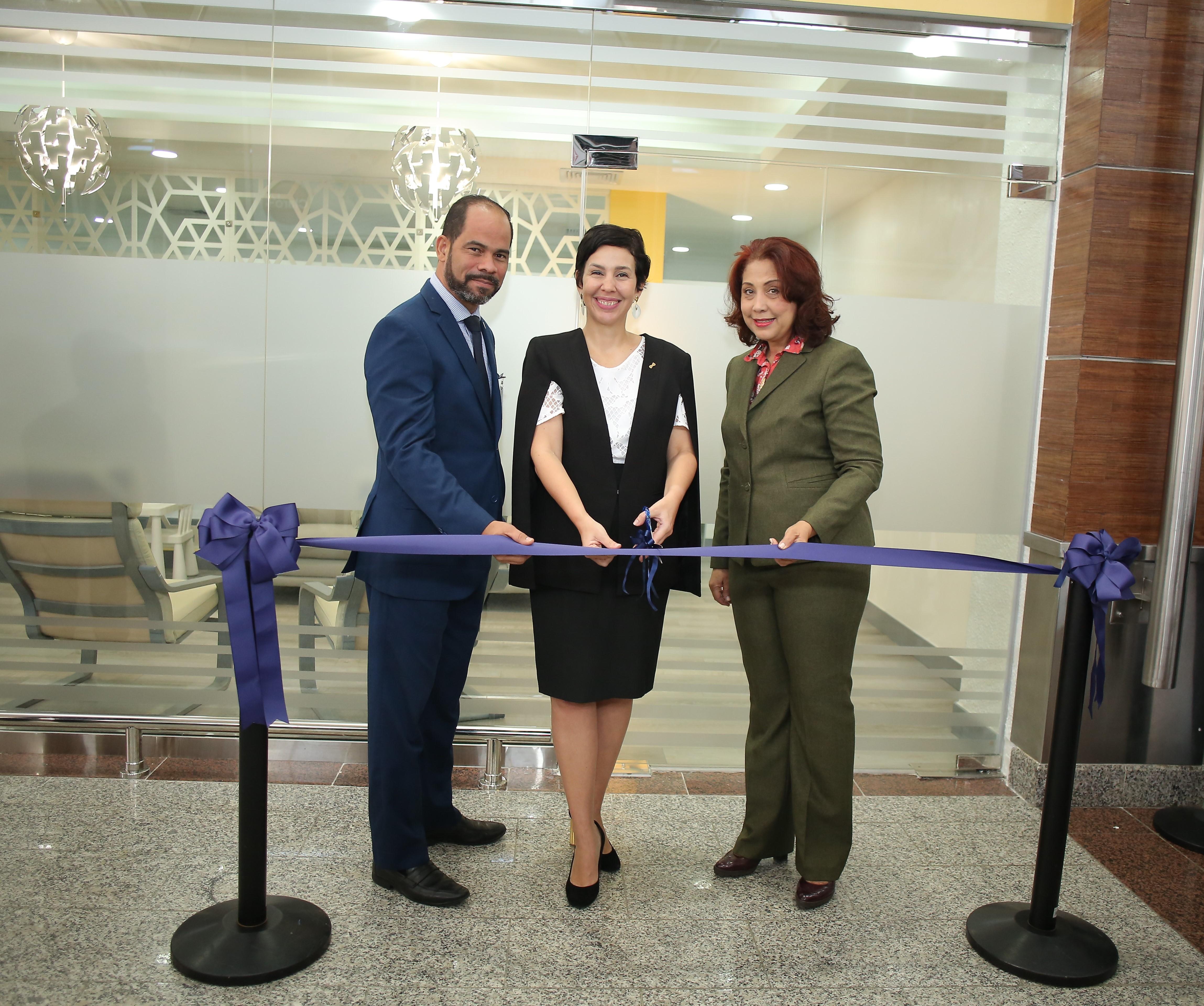 Inauguran primera Sala de Lactancia en el AILA-JFPG
