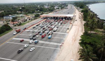 Amplía la estación de peaje de la autopista Las Américas