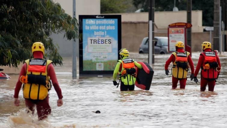 Al menos doce muertos por inundaciones en el sur de Francia
