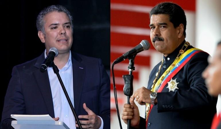 Maduro dice Duque es un