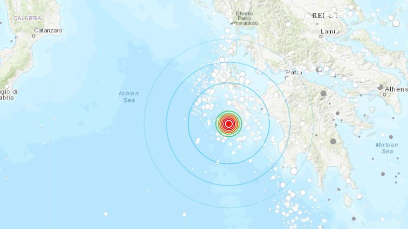 Alerta de tsunami en el Mediterráneo cerca de Grecia tras sismo de 6,8
