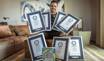 Luis Fonsi recibe siete récords Guinness por
