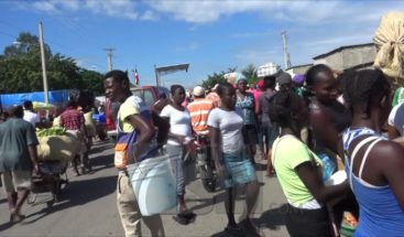 Frontera en calma tras protestas en Haití