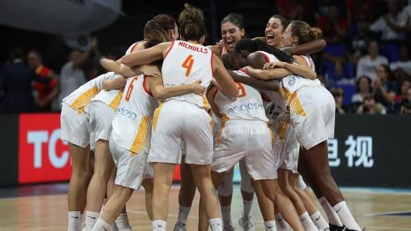 España conquista medalla de bronce en el Mundial femenino de baloncesto