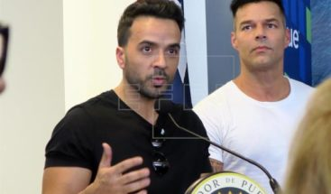 Luis Fonsi se une a Ricky Martin en campaña para reconstrucción de PR