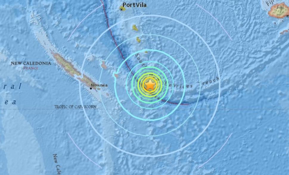 Dos terremoto de 6,3 y 6,4 sacuden Nueva Caledonia, en el Pacífico Sur
