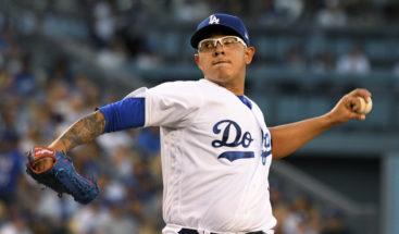 Urías se apunta victoria de Dodgers, que igualan 2-2 Serie de Campeonato