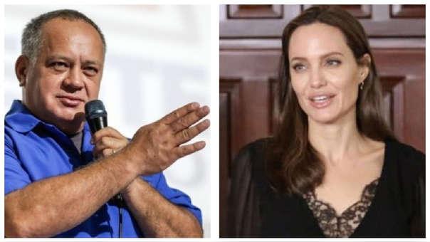 Dura crítica de Diosdado Cabello contra Angelina Jolie por los refugiados - Mundo