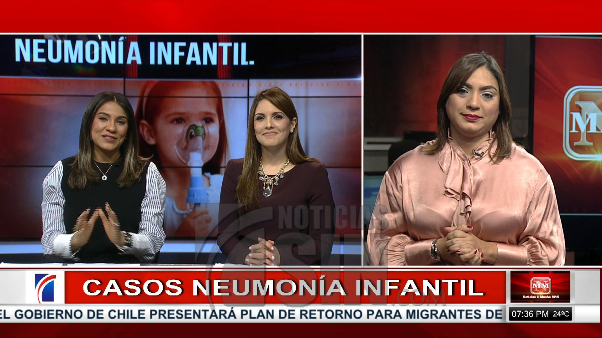 La neumonía es la principal causa de mortalidad infantil en el mundo