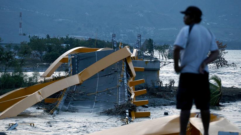 Tsunami posterior al terremoto de Indonesia sorprende a científicos