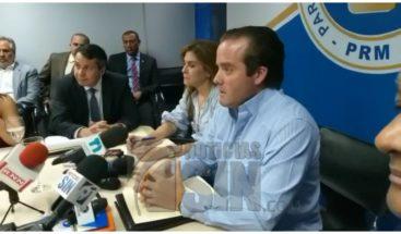 PRM reitera realizará primarias con padrón de su partido
