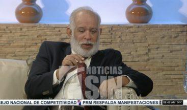 Sociólogo Wilfredo Lozano analiza protestas que se realizan en el país