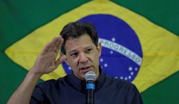 Haddad dice que Bolsonaro