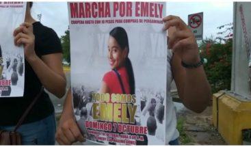 Realizan concentración para exigir condena contra acusados caso Emely