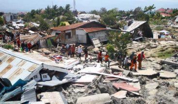 Se eleva 1.407 las víctimas por el terremoto y tsunami en Indonesia
