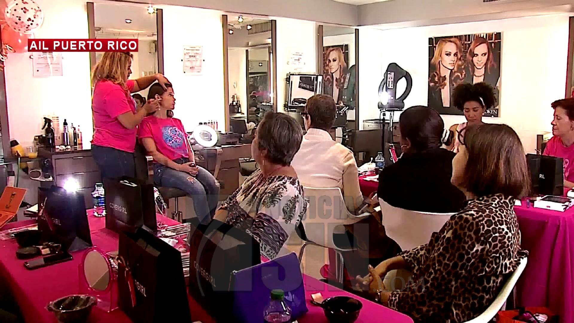 Taller de maquillaje para pacientes con cáncer de mama