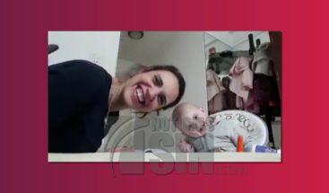 Bebé que se convierte viral en las redes tiene propia cuenta en You Tube