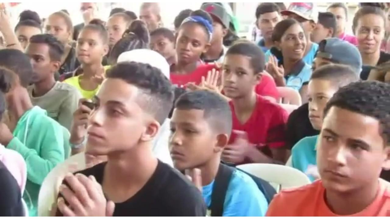 Dan apertura al programa de policía juvenil comunitaria en La Vega