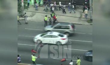 Miles de pasajeros varados por paro en el transporte