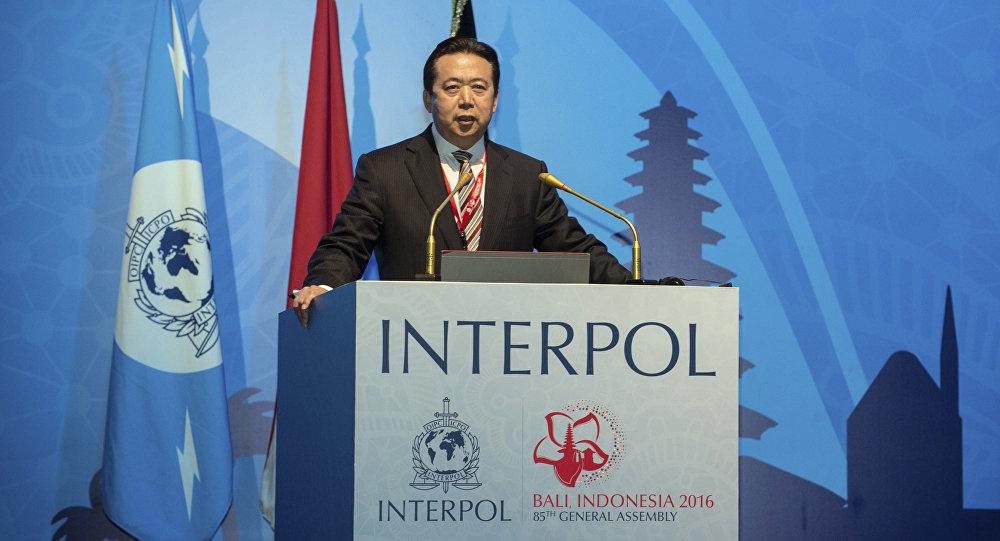 Interpol anuncia la dimisión
